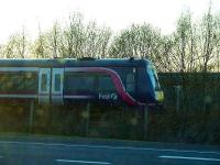 A Class 170 on the approach to Forres with an Inverness service.<br><br>[Graham Morgan&nbsp;01/04/2007]