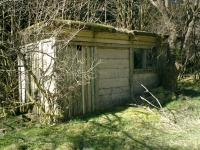 Strathendrick & Aberfoyle Railway, Lineside hut.<br><br>[Alistair MacKenzie 04/04/2007]