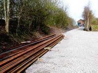 Newburgh goods yard has been cleared and a ballast covering laid. <br><br>[Brian Forbes&nbsp;09/04/2007]
