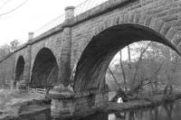 Lyne Viaduct in its glory.<br><br>[Colin Harkins&nbsp;09/04/2007]