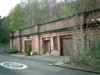 Caledonian Railway Lanarkshire and Dumbartonshire line, Bowling Station (front).<br><br>[Alistair MacKenzie&nbsp;13/04/2007]