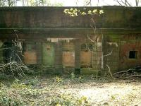 Caledonian Railway Lanarkshire and Dumbbartonshire line, Bowling station (rear).<br><br>[Alistair MacKenzie&nbsp;13/04/2007]