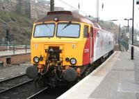 Virgin <I>Thunderbird</I> 57310 <I>Kyrano</I> in the locomotive bay at the east end of Waverley station on 13 April 2007.<br><br>[John Furnevel&nbsp;13/04/2007]