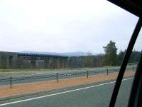 The Findhorn Viaduct on the line from Inverness to Perth. Photo taken from the A9.<br><br>[Graham Morgan&nbsp;02/04/2007]