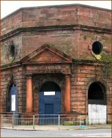 Cumberland Street, main station entrance, March 2007.<br><br>[John Furnevel&nbsp;11/03/2007]
