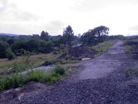 Looking west along the trackbed at North Johnstone. The Johnstone North line was to the left and went under the line here. The area in shot now has a new <i>Morrisons</i> store built on it.<br><br>[Graham Morgan&nbsp;//2006]