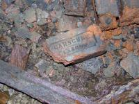 Locally made brick used in tunnel wall... remember that borehole?? <i>BE</i> Hmmm.<br><br>[Colin Harkins&nbsp;22/04/2007]