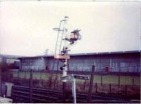 Cumbernauld Station,  signal and gradient board.<br><br>[Alistair MacKenzie&nbsp;//]