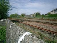 Craigendoran Junction looking W Helensburgh to left WHL to right.<br><br>[Alistair MacKenzie&nbsp;30/04/2007]