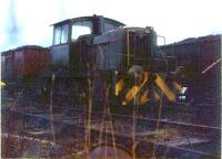 English Electric 0-6-0 at Cardowan Colliery, Stepps around 1980.<br><br>[Alistair MacKenzie 28/11/1981]