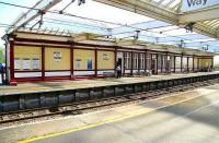 Quiet period on the northbound platform at Troon on 3 May.<br><br>[John Furnevel&nbsp;3/05/2007]