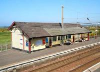 Located in deepest golfing country - the northbound platform at Prestwick Town in May 2007. <br><br>[John Furnevel 3/05/2007]