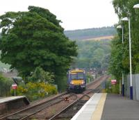 170425 crosses over to the up line at Ladybank and heads for Edinburgh.<br><br>[Brian Forbes&nbsp;11/05/2007]