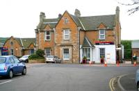 Station building and forecourt at Dunbar. May 2007.<br><br>[John Furnevel&nbsp;16/05/2007]