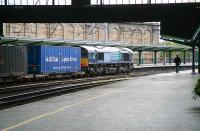 WHM containers heading south through Carlisle on 18 April 2007.<br><br>[John Furnevel&nbsp;18/04/2007]