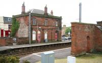 Some of the interesting architecture at Saltcoats station. 17 May 2007.<br><br>[John Furnevel&nbsp;17/05/2007]