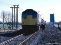 Freight at Manor Powis in March 1986.<br><br>[Mark Dufton&nbsp;/03/1986]