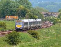 1335 Dundee to Edinburgh passing Tailabout bridge NE of Cupar<br><br>[Brian Forbes&nbsp;10/06/2006]