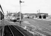 Passing Inverness shed in 1986.<br><br>[Bill Roberton&nbsp;//1986]