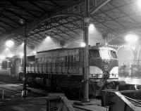 Night scene at Heuston station, Dublin in 1988.<br><br>[Bill Roberton&nbsp;//1988]