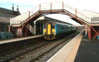 Train for Middlesbrough stands at Hexham in February 2007.<br><br>[John Furnevel&nbsp;/02/2007]