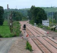 East end of Alloa loop complete with signals installed in both directions.<br><br>[Brian Forbes&nbsp;15/06/2007]