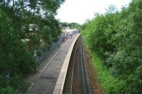 View south over Dunlop station from the roadbridge on 17 June 2007.<br><br>[John Furnevel&nbsp;17/06/2007]