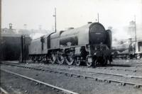 LMS Royal Scot Type 6155.<br><br>[G H Robin collection by courtesy of the Mitchell Library, Glasgow&nbsp;31/05/1947]