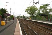 View west at Carntyne - May 2007.<br><br>[John Furnevel 13/05/2007]