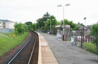 The 1871 station at Stewarton in June 2007, looking north towards Dunlop.<br><br>[John Furnevel&nbsp;17/06/2007]