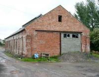 Former locomotive shed at Newton Stewart looking east in May 2007, some 43 years after official closure.<br><br>[John Furnevel&nbsp;31/05/2007]