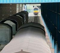 View through one of the sheds at WHM Grangemouth in June 2007.<br><br>[John Furnevel&nbsp;/06/2007]
