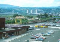 Approach to Larne Harbour in 1988.<br><br>[Bill Roberton&nbsp;//1988]