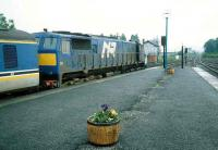 NIR 111 stands ready to leave Dundalk for the north in 1993.<br><br>[Bill Roberton&nbsp;//1993]