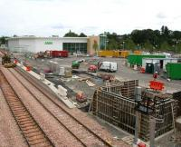 General view over the Alloa site on 10 July.<br><br>[John Furnevel&nbsp;10/07/2007]