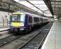 Perth Platform 6 with stabled 170496.<br><br>[Brian Forbes&nbsp;14/07/2007]