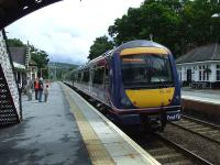 170405 at Pitlochry with the 1415 service to Edinburgh Waverley<br><br>[Graham Morgan&nbsp;02/07/2007]
