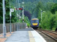 170405 departing Pitlochry, heading south for Edinburgh<br><br>[Graham Morgan&nbsp;02/07/2007]