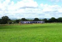 Colne - Blackpool service westbound along the Bowland Fells near Gregson Lane on 14 July.  <br><br>[John McIntyre&nbsp;14/07/2007]