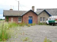 The station building at Meigle on the Alyth branch, seen platform side in July 2007. This building was the original station on this site, a new station with a wooden building later opening on the other side of the level crossing to the left.<br><br>[John Furnevel&nbsp;12/07/2007]