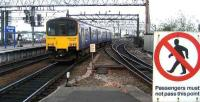 A class 150 service leaves Manchester Piccadilly on 22 May heading for Buxton. <br><br>[John McIntyre&nbsp;22/05/2007]