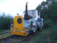 First Engineering track maintenance vehicle in Tulloch yard.<br><br>[John Gray&nbsp;20/07/2007]