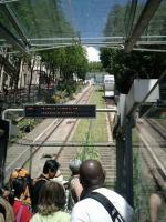 Although short, the funicular railway <I>Sacre Coeur </I> saves many steps up the hill.<br><br>[Alistair MacKenzie&nbsp;20/07/2007]