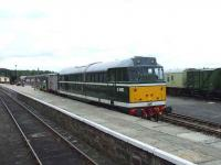 D5862 at Boat of Garten freshly painted in BR green<br><br>[Graham Morgan&nbsp;06/07/2007]