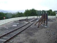 Turntable on the Strathspey Railway at Aviemore<br><br>[Graham Morgan&nbsp;06/07/2007]