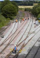 Almost there - Inverkeithing Central Junction on 29 July.<br><br>[Bill Roberton&nbsp;29/07/2007]