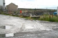Traces of the former railway can still be found within what remains of the harbour although much of the area has now given way to new housing and roads.<br><br>[John Furnevel&nbsp;22/07/2007]