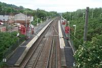 The basic facilities at Howwood on 17 June 2007. The station opened in March 2001 and is located south west of the original station which had been closed in 1955.<br><br>[John Furnevel&nbsp;17/06/2007]