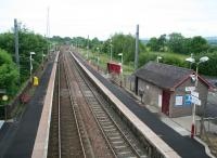 View south from the A760 road bridge at Lochwinnoch on 17 June 2007.<br><br>[John Furnevel&nbsp;17/06/2007]