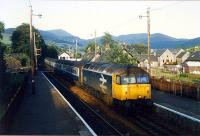 Late evening light bathes 47531 entering Blair Atholl from the south.<br><br>[Ewan Crawford&nbsp;//1989]